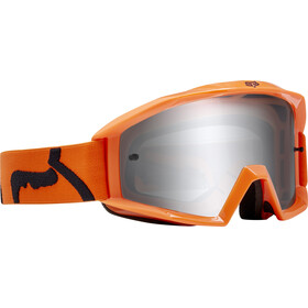 Fox Main Race - Gafas enduro - gris/naranja